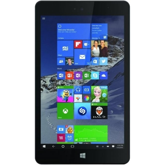 "Linx 810 8"" Intel Atom Z3735G 1.83 GHz, 1 GB RAM, 32 GB Storage, WLAN, Bluetooth, Camera, Windows 10 Tablet, Black"