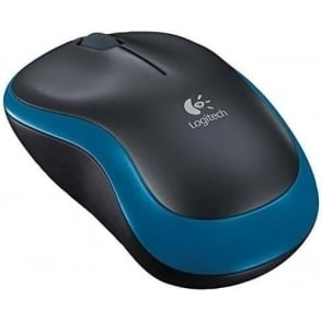 910-002236 Mouse Wireless M185 Black/Blue