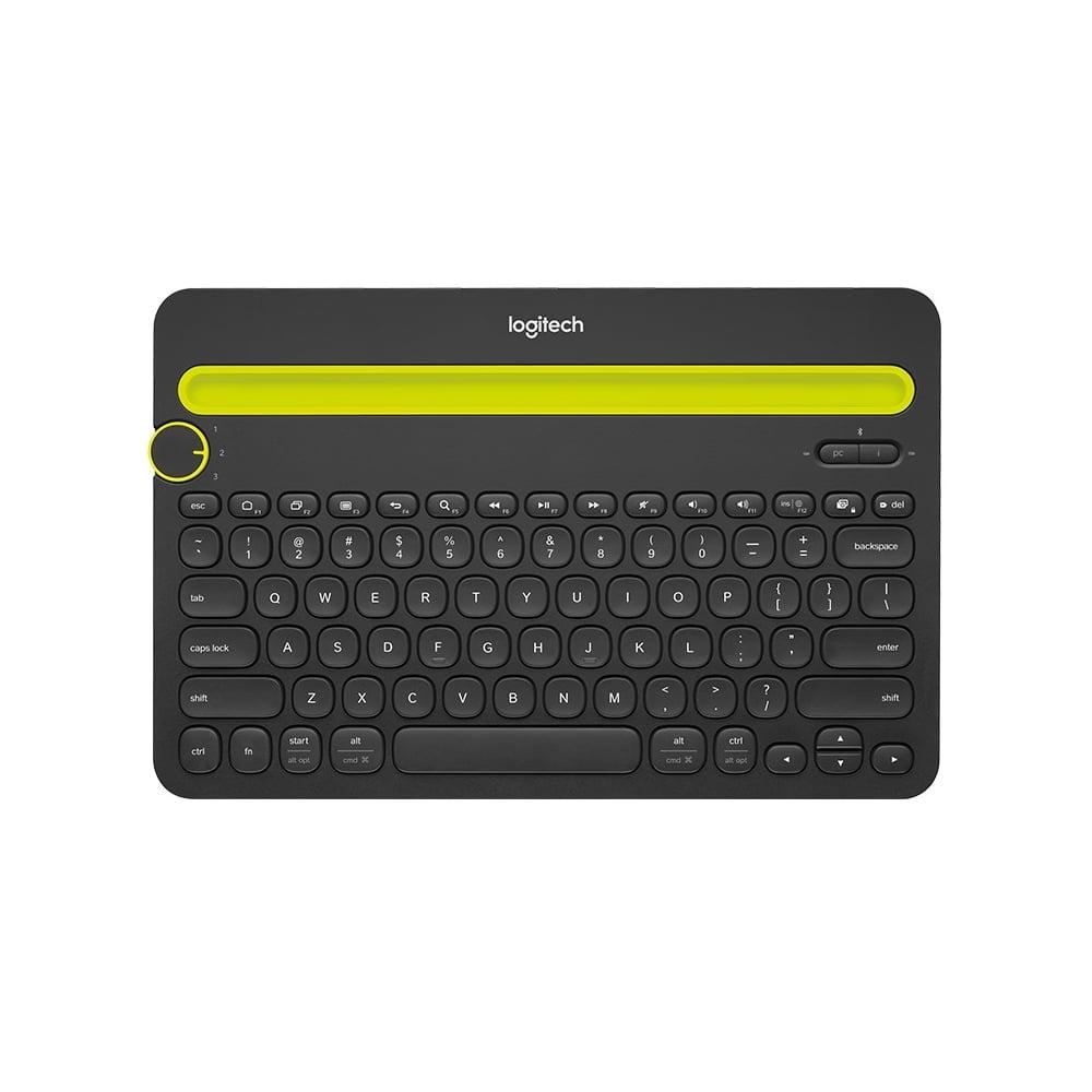 logitech k480 tablet wireless bluetooth keyboard black logitech from uk. Black Bedroom Furniture Sets. Home Design Ideas