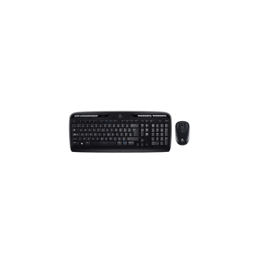 6d81ffc8a10 Logitech MK330 Wireless Keyboard/Mouse Combo, Black - Computing ...