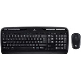 MK330 Wireless Keyboard/Mouse Combo, Black