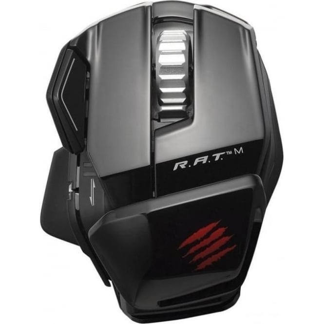 Mad Catz R.a.t. M Wireless Mobile Gaming Mouse, Black