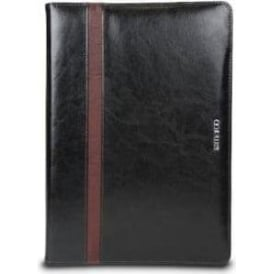 813fdc66fc82a5 Microsoft Surface Pro 3 4 Kickstand Tough Leather Folio Cover Case