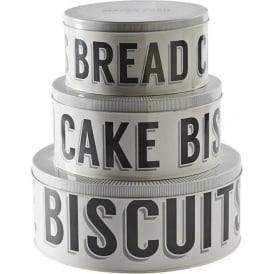 Baker Street Set of 3 Cake Tins
