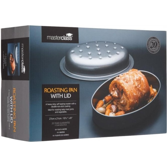 Master Class Non-Stick Covered Roasting Pan