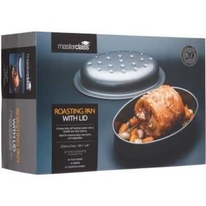 Non-Stick Covered Roasting Pan