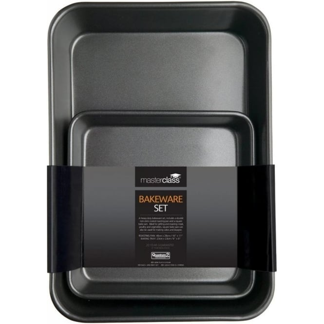 Master Class Non-Stick Twin Bakeware Pack