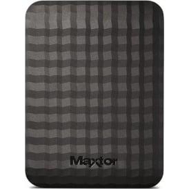 M3 4TB USB 3.0 Slimline Portable Hard Drive, Black