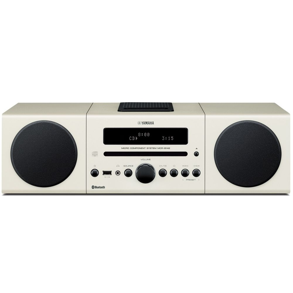 Yamaha mcrb142w micro hifi 30w cd fm dab ipod dock for Yamaha sound dock