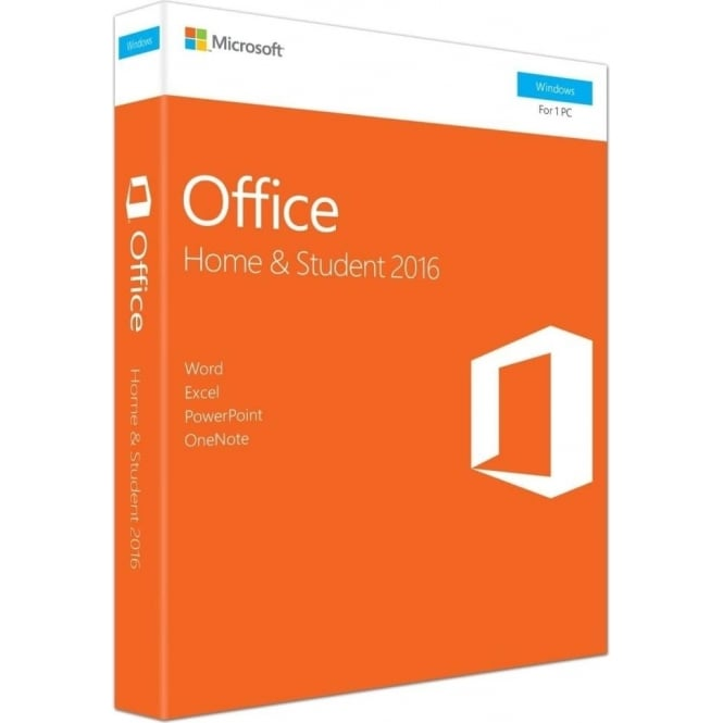 Microsoft Office 2016 PC Home and Student
