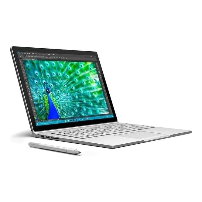"Microsoft Surface Book, Intel Core i5, 8GB RAM, 256GB, 13.5"" PixelSense Touch Screen, Silver"