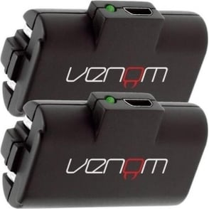 Venom Twin Rechargeable Battery Packs Xbox One