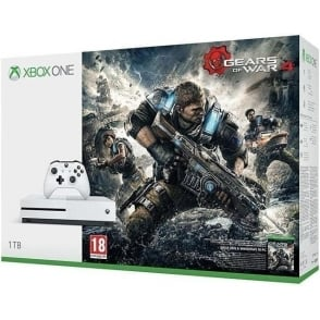 Xbox One S 1TB + Gears of War 4 Game Console