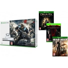 Xbox One S 1TB + Gears of War 4, Mad Max, Metal Gear Solid V, Deus Ex: Mankind Divided Day One Edition