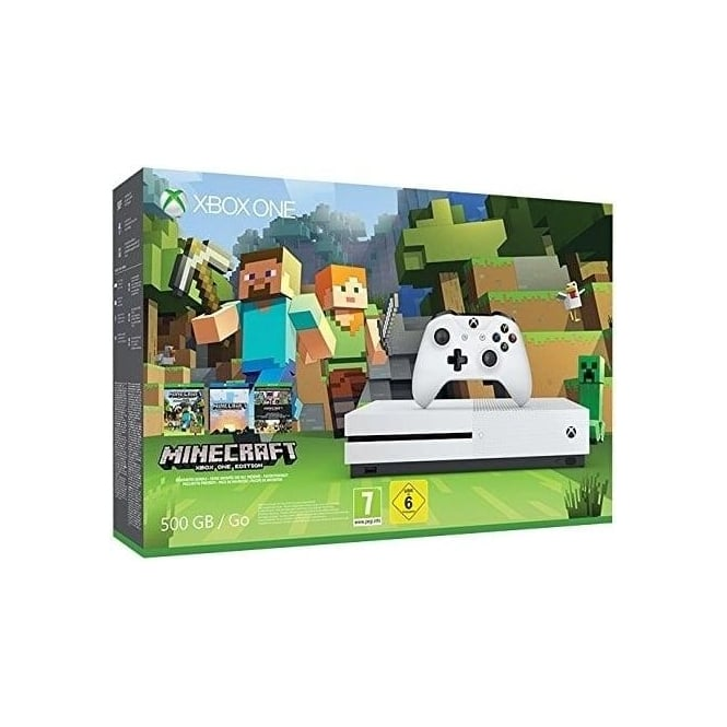Microsoft Xbox One S Minecraft Bundle 500GB