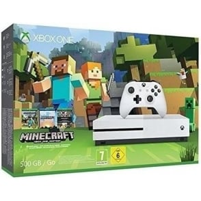 Xbox One S Minecraft Bundle 500GB