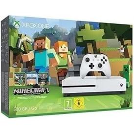 Xbox One S Minecraft Bundle 500GB