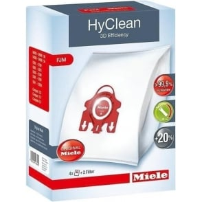 FJM HyClean 3D Efficiency Vacuum Bags