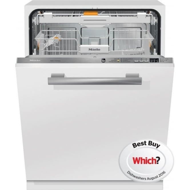 Miele Fully integrated Dishwashers with 3D cutlery tray+ and 44 dB(A)