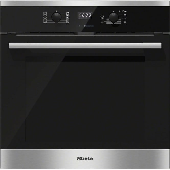 Miele H2561BP Electric A+ Energy Class Single Oven With Pyrolytic Cleaning