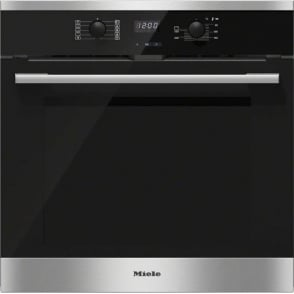H2561BP Electric A+ Energy Class Single Oven With Pyrolytic Cleaning