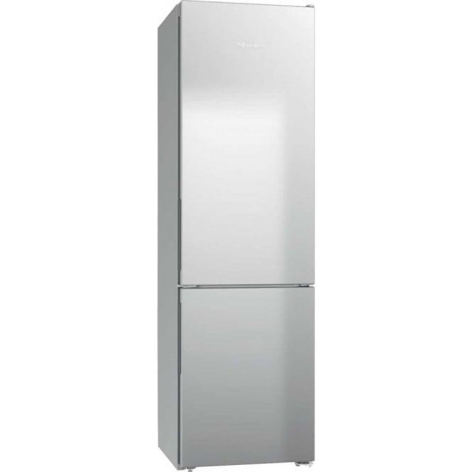 Miele KFN29032DEDO 70/30 Frost Free A++ Fridge Freezer, Silver