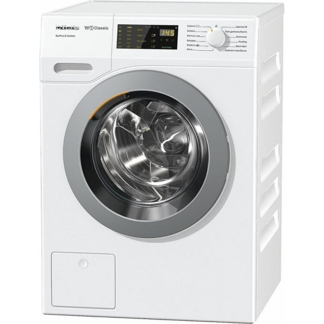 Miele WDD030 EcoPlus&Comfort 8kg, 1400rpm, A+++ Washing Machine, White