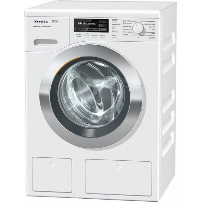 Miele WKH121WPS W1 8kg, 1600rpm Washing Machine with PowerWash 2.0 and TwinDos