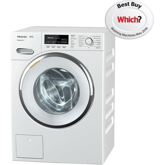Miele WMF 121 8kg, 1600rpm, A+++  Freestanding Washing Machine, White