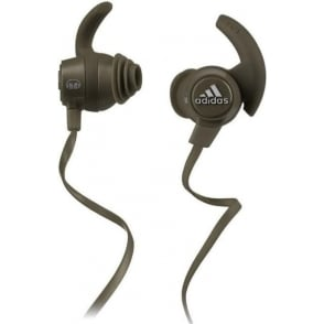 Monster Adidas Response Sport Earphones, Olive Green