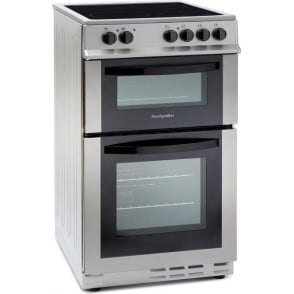 MDC500FS 50cm Electric Cookier with Double Oven and Ceramic Hob, Silver