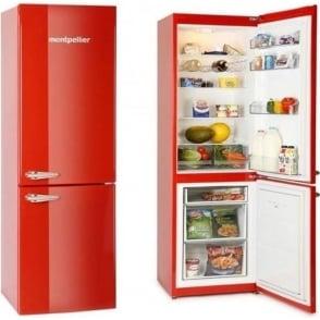 Retro Freestanding A+ Fridge Freezer