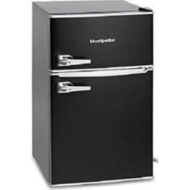 Under Counter Retro Style A+ Fridge Freezer