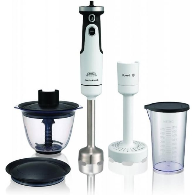 Morphy Richards 402051 Total Control Hand Blender Set, White