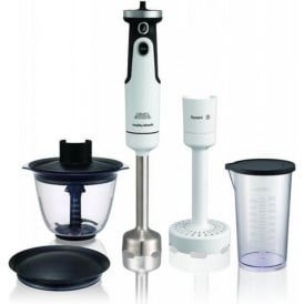402051 Total Control Hand Blender Set, White
