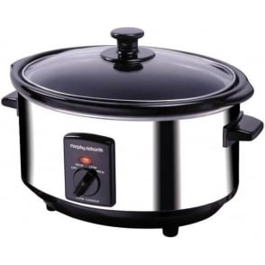 48710 3.5L Slow Cooker, Polished Stainless Steel