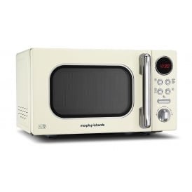511501 Accents Colour Collection 20L Digital Solo Microwave, Cream
