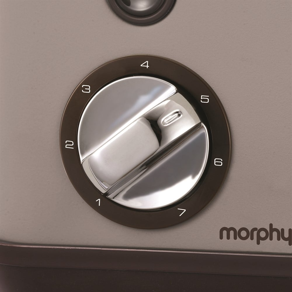 Morphy Richards Accents 2 Slice Toaster Pebble Grey