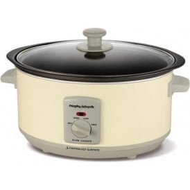 Accents 460002 3.5 Litres Slow Cooker, Cream