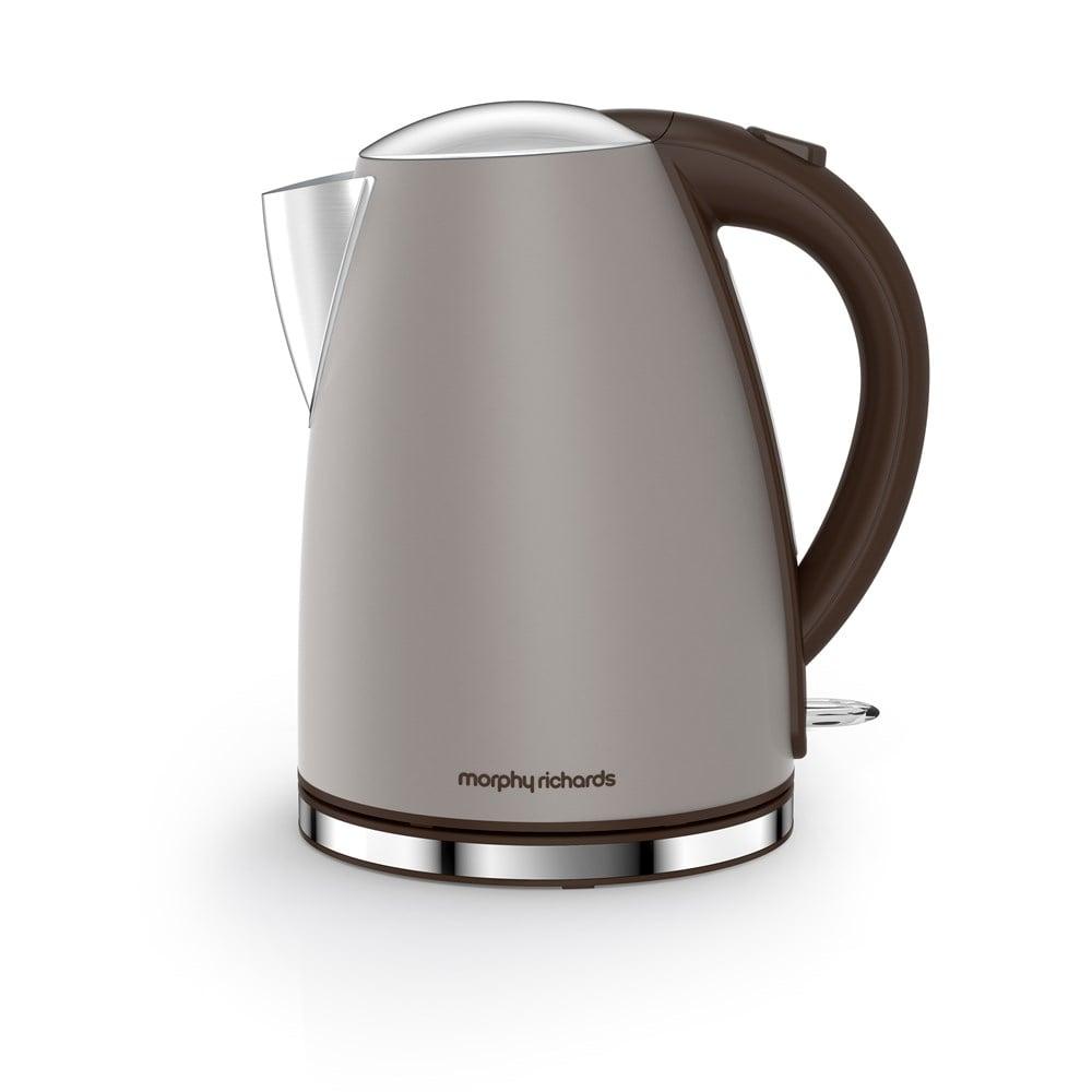 Morphy Richards Appliances: Morphy Richards Accents Jug Kettle, Pebble Grey