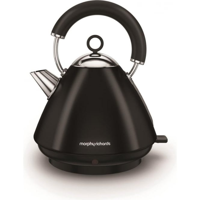 Morphy Richards Accents Pyramid Kettle, Black