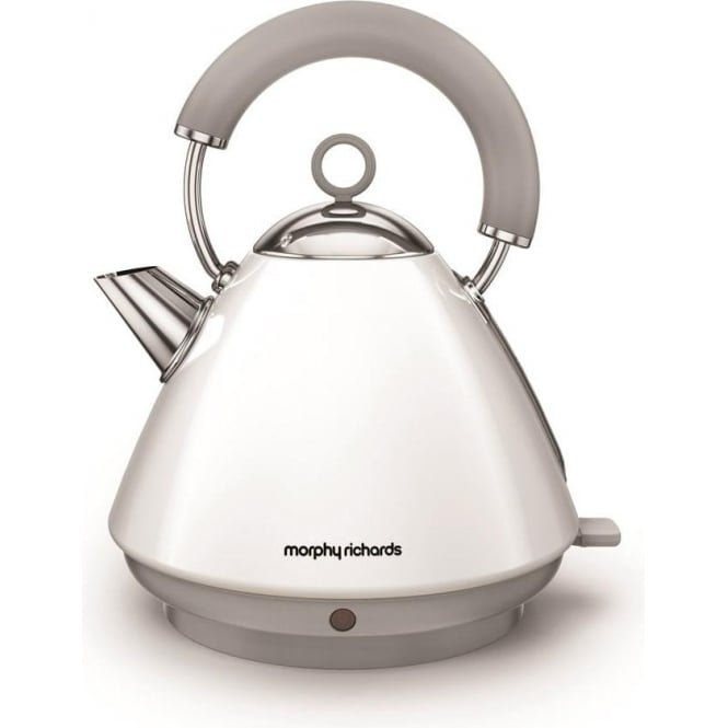 Morphy Richards Accents Pyramid Kettle, White