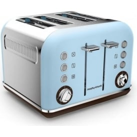 Accents Special Edition 4 Slice Toaster, Azure Blue