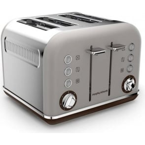 Accents Special Edition 4 Slice Toaster, Pebble Grey