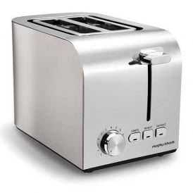 Brushed 2 Slice Toaster, Brushed Stainless Steel