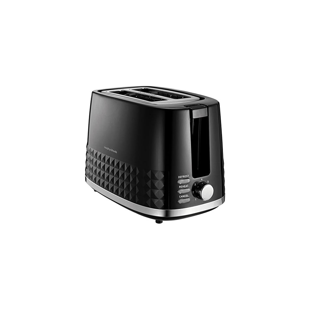 morphy richards dimensions 2 slice toaster black home. Black Bedroom Furniture Sets. Home Design Ideas