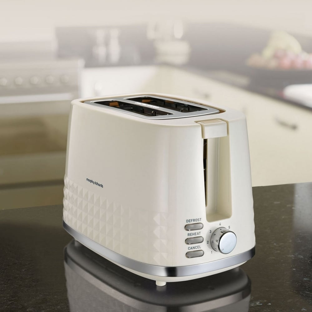 morphy richards dimensions 2 slice toaster cream morphy. Black Bedroom Furniture Sets. Home Design Ideas