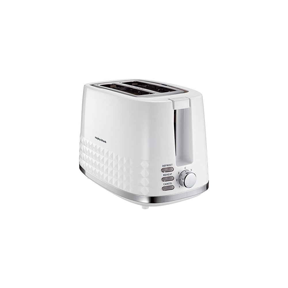 morphy richards dimensions 2 slice toaster white home. Black Bedroom Furniture Sets. Home Design Ideas