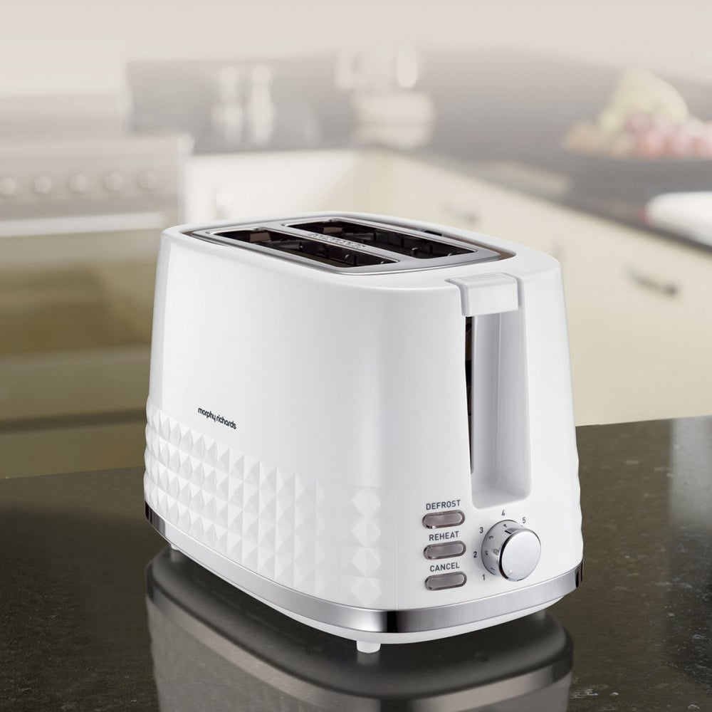 morphy richards dimensions 2 slice toaster white morphy. Black Bedroom Furniture Sets. Home Design Ideas