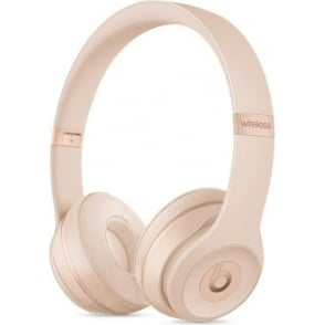 MR3Y2ZM/A Beats Solo3 Wireless On-Ear Headphones, Matt Gold